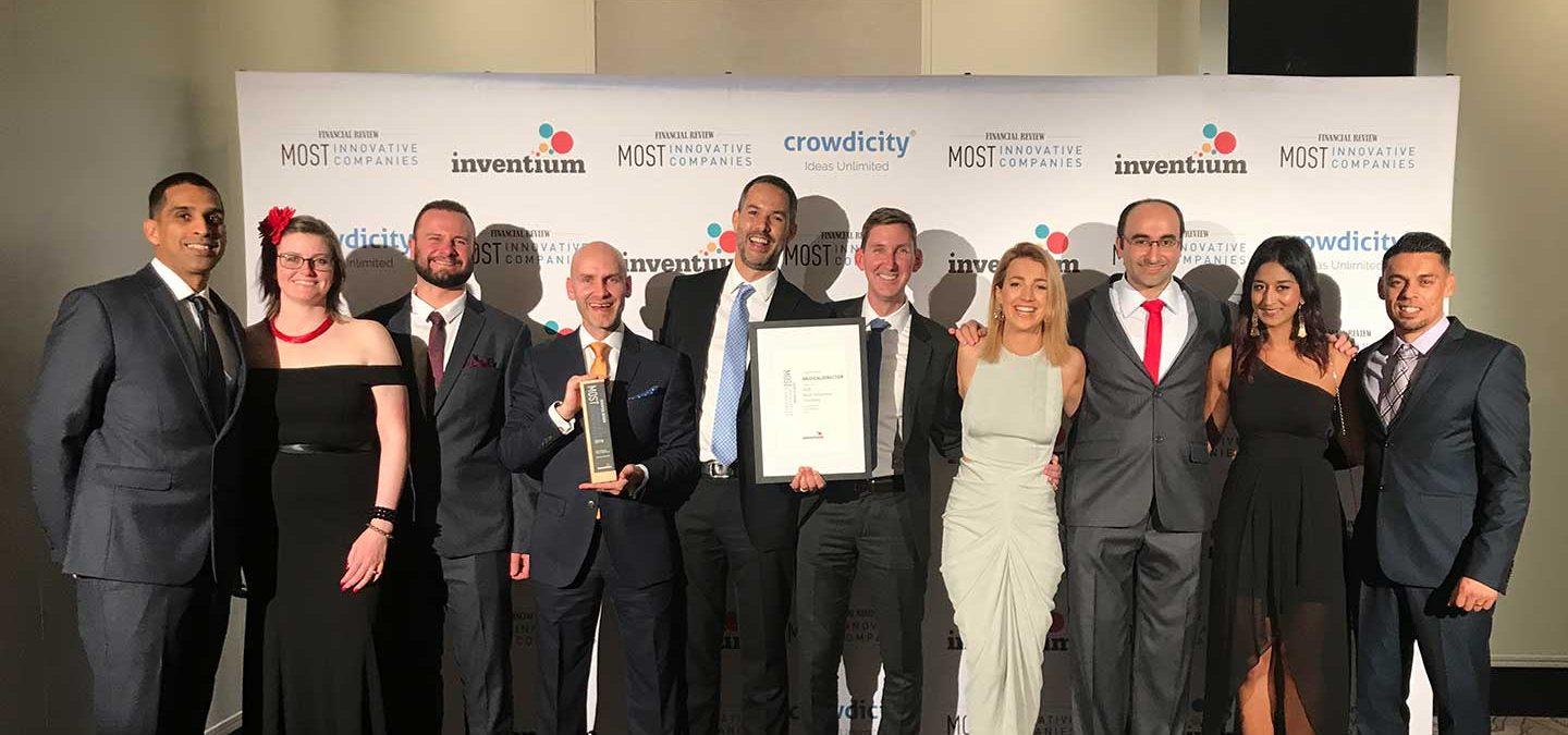 AFR Innovation Award Winners