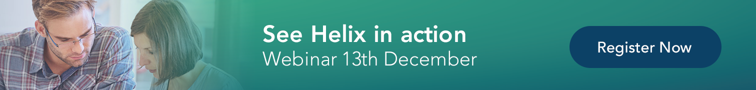 Introduction to helix Webinar 13th December