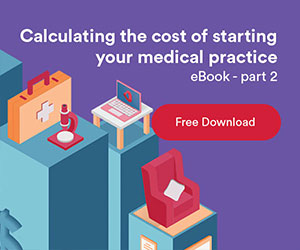 Calculating the cost of starting your medical practice eBook