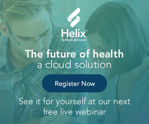 Register now for a free demonstration of Helix by MedicalDirector