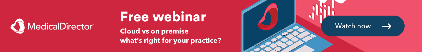 Free on-demand webinar: Cloud vs on premise – what's right for your practice?