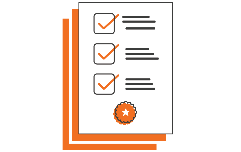 Clinical icons_compliance accreditation